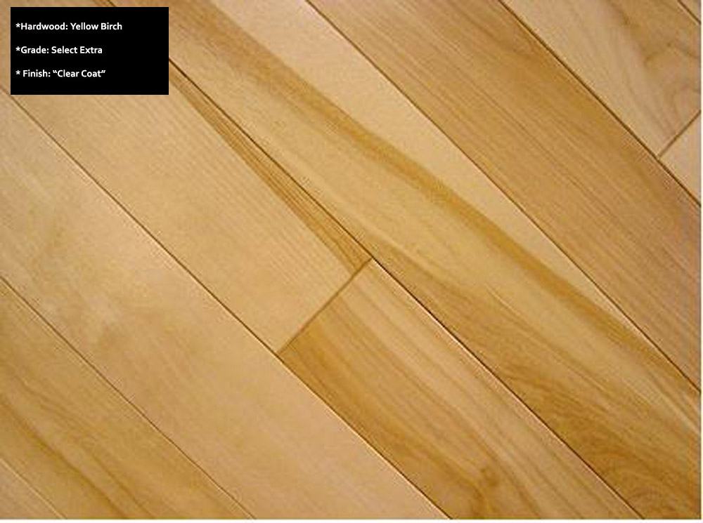Light Birch Wood Floors Modern Home With Engineered